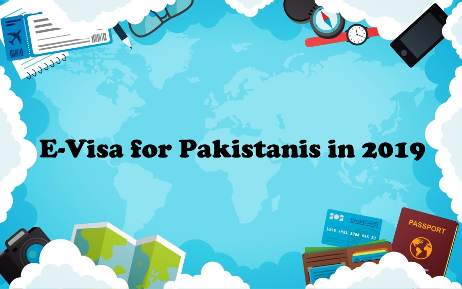 19 Countries in the World offering E-Visa for Pakistanis in 2019