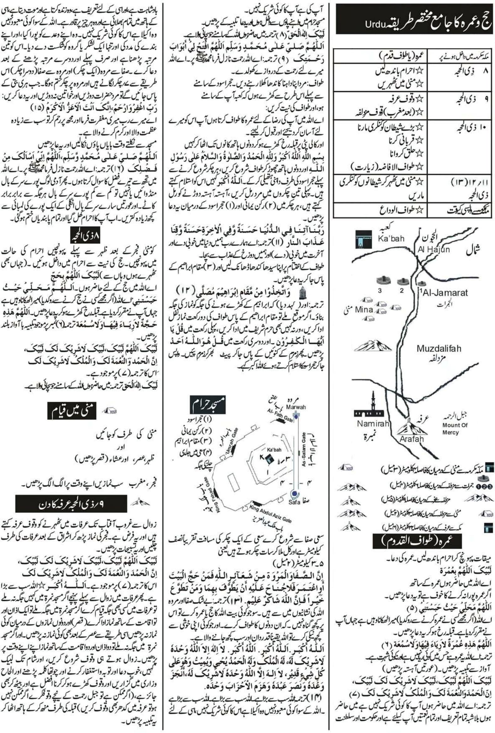 Hajj Guide in Urdu 1