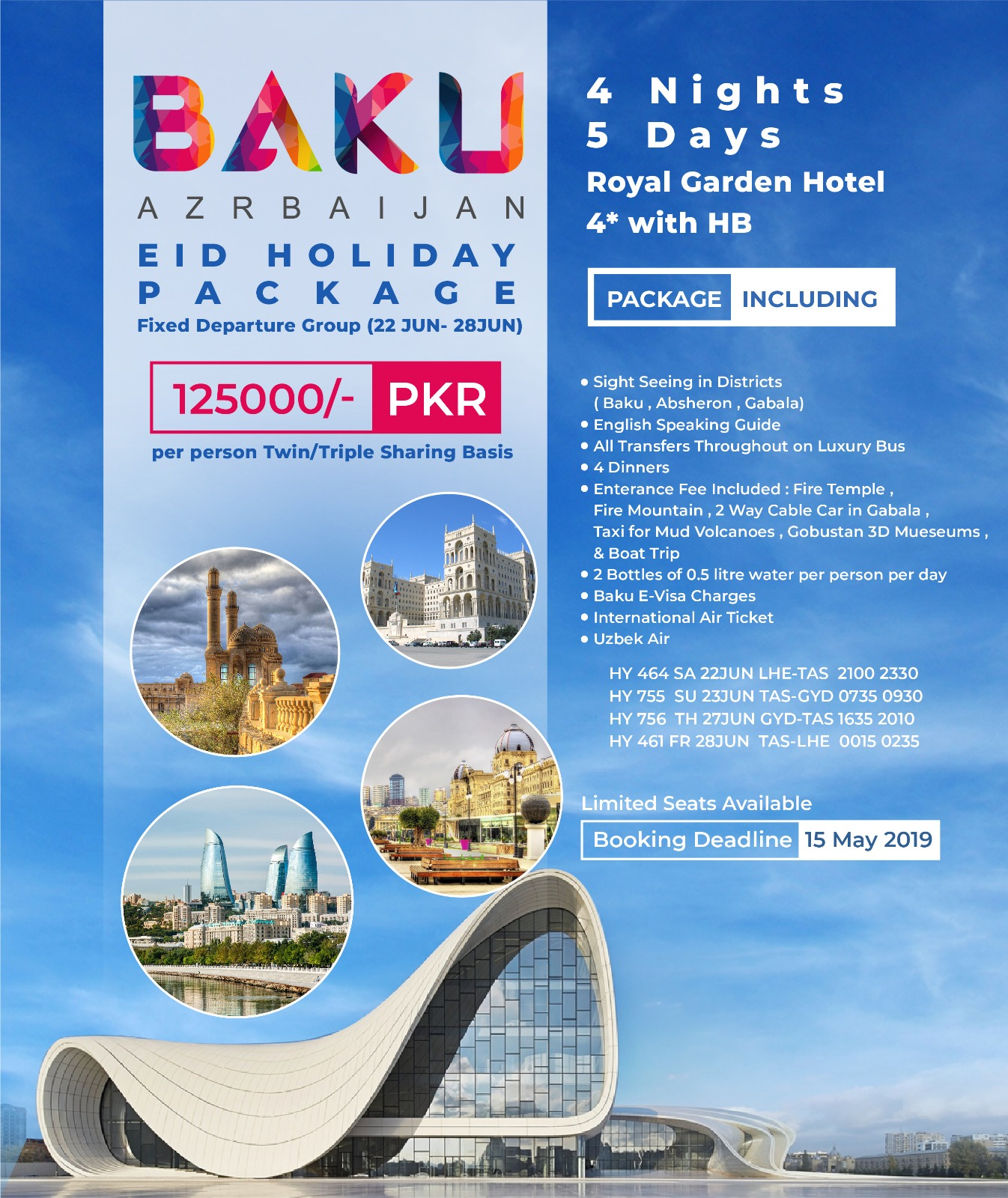 All Inclusive Baku Tour