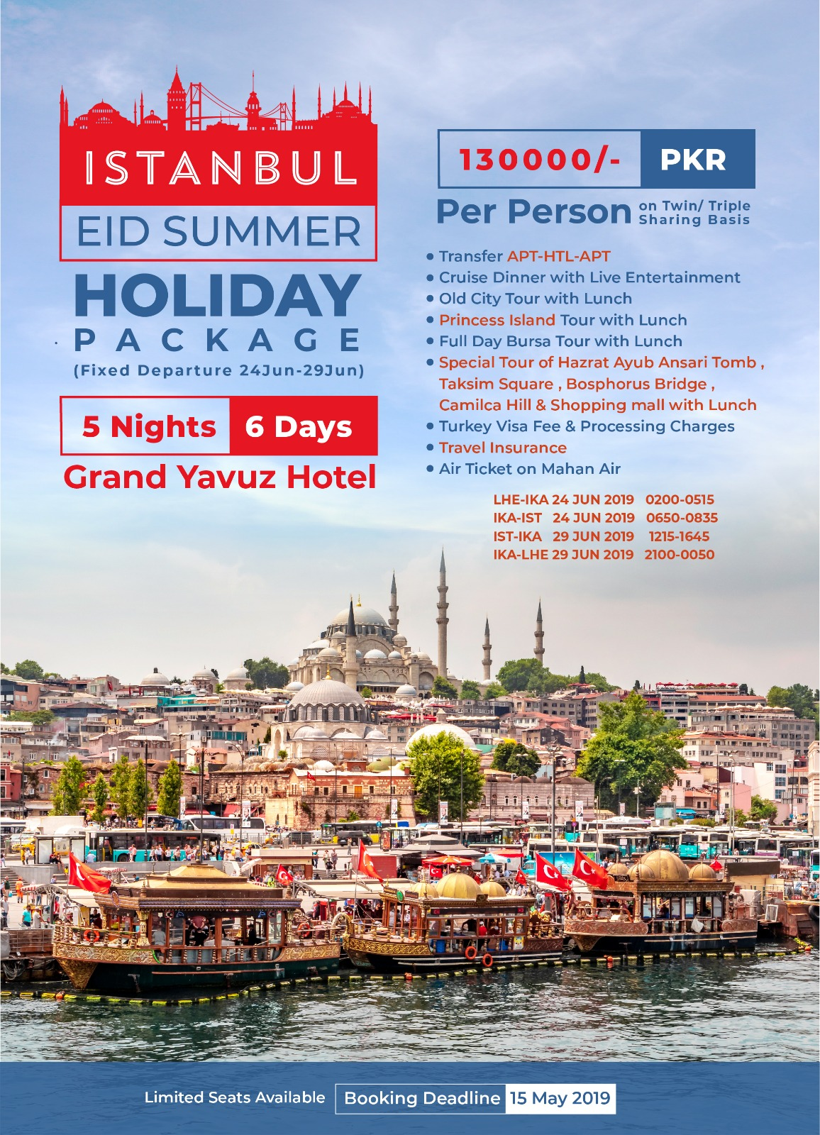 All Inclusive Turkey Tour
