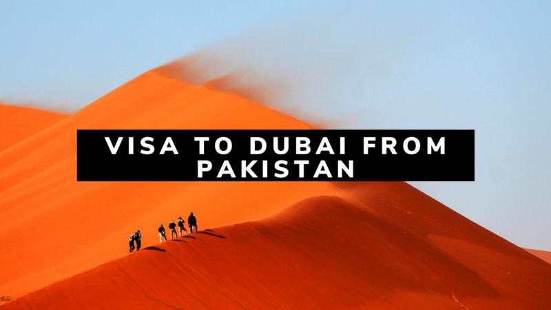 Visa To Dubai from Pakistan